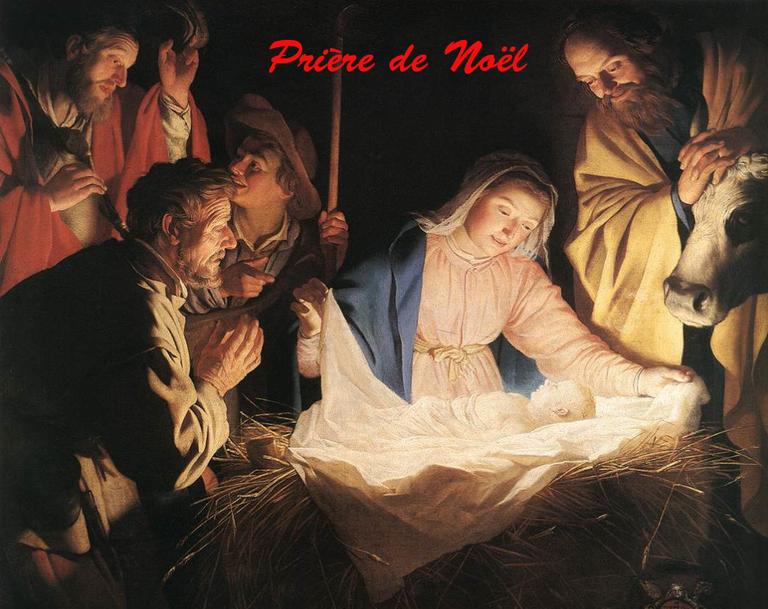 Prière de Noël