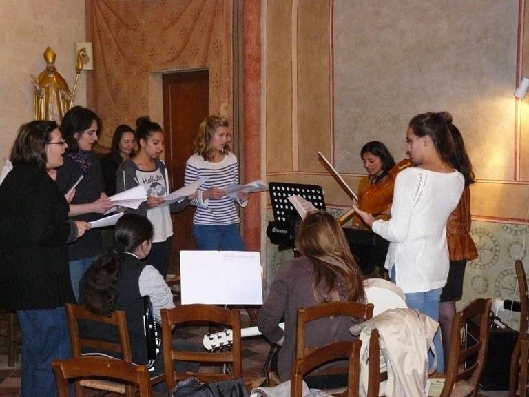 chorale lycéens